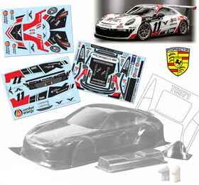 TeamC Porsche 911 RSR 1:10 Touring Car body 200mm - Unpainted