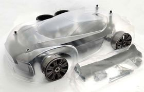 HoBao Hyper VT Electric On-Road 1/8th Roller Chassis With Colored body (80%)