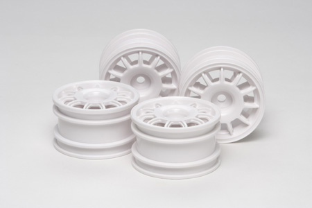 Tamiya 11 spoke Racing Wheel (White) (4)